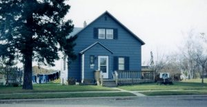 House where I was born in BLACKDUCK, MINNESOTA.
