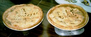 Ovidia's apple pies, the world's BEST.