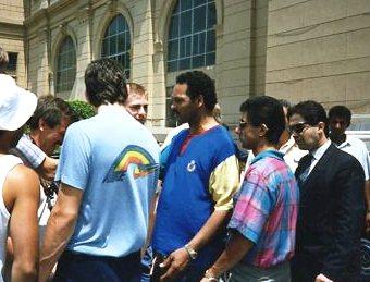 EGYPT Jesse Jackson 1989