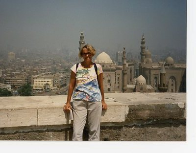 EGYPT-marj on the roof 1989