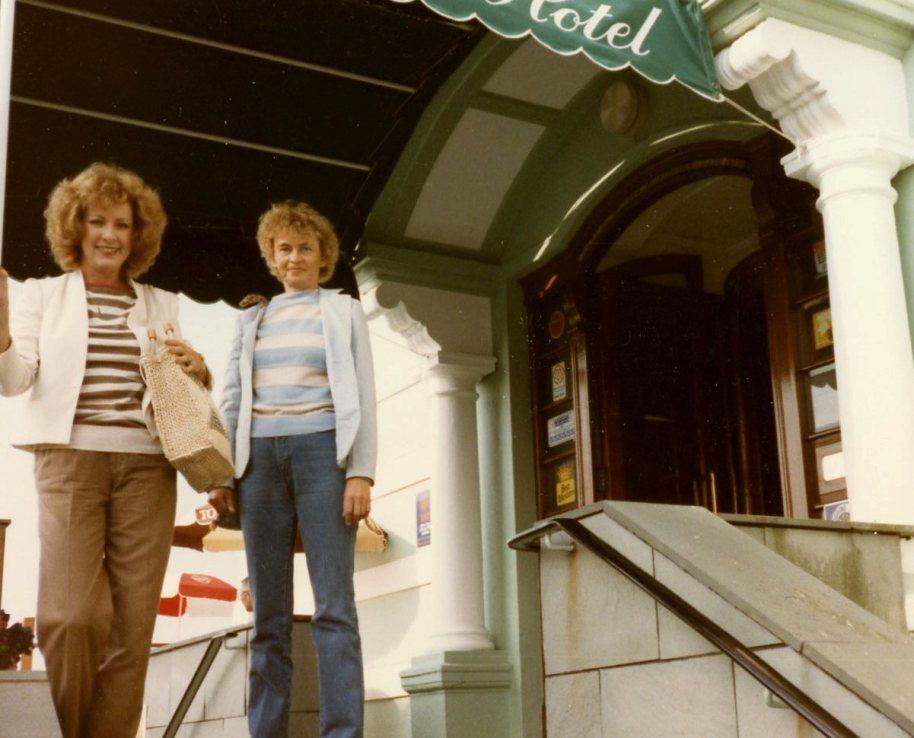 BRIGHTON BEACH UK, 1984. SUE & ME.