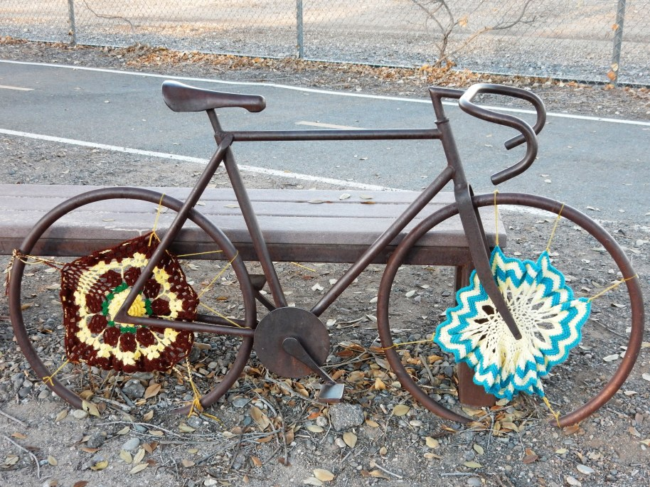 TRIBUTE TO A FALLEN CYCLIST.