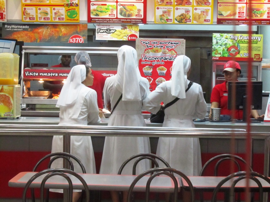 THERE WERE WOMEN IN WHITE. WOULD THEY BE ANGELS?