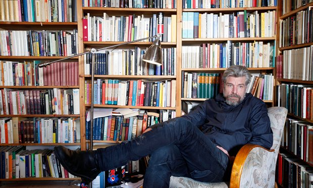 Karl Ove Knausgaard: Photo from The Guardian