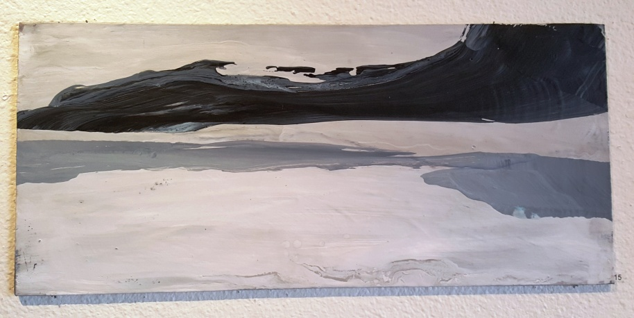 By CATHERINE LYNCH, love this piece. Reminds me so much of Greenland and stark landscape and glaciers.