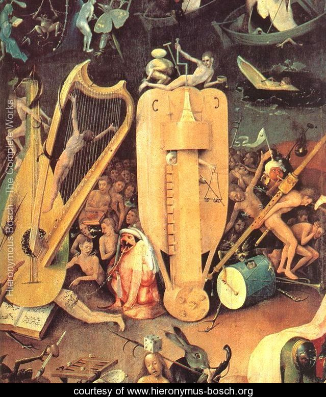 Hieronymus Bosch from the Garden of Earthly Delights